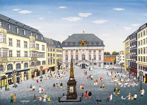 Bonn rathausplatz